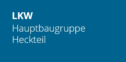 LKW Hauptbaugruppe Heckteil